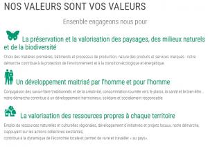 Valeurs Parcs Fédération des Parcs naturels régionaux de France