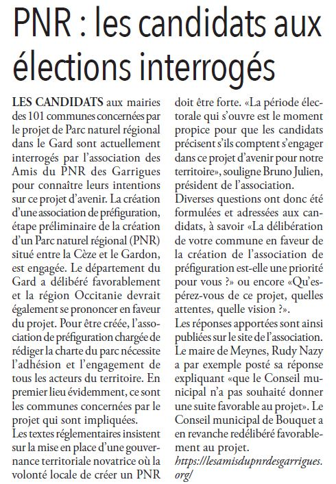 RU 2020 02 13 - PNR Les candidats interroges
